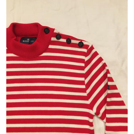 ROYAL MER Breton Jumper RED×ECRU