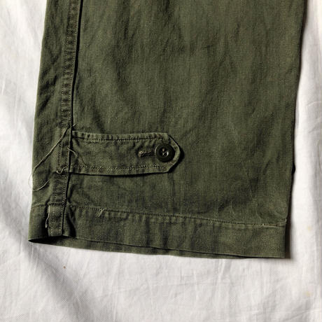 "60's French Army M47 Field Trousers ""31"" Good Condition"