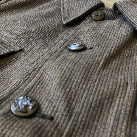 40's Animal Buttons Pique Hunting Jacket Dead Stock
