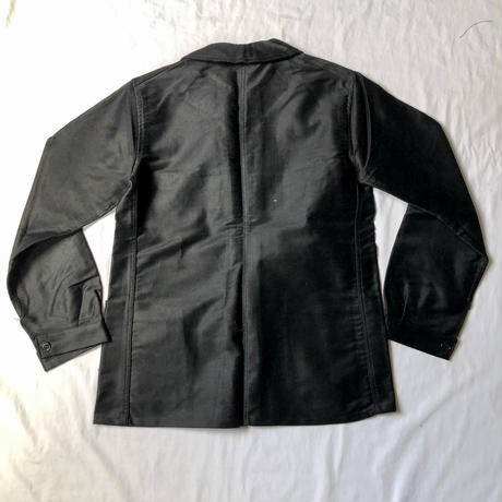 40's Black Moleskin Coverall Dead Stock Made by Dubure&Deverchere