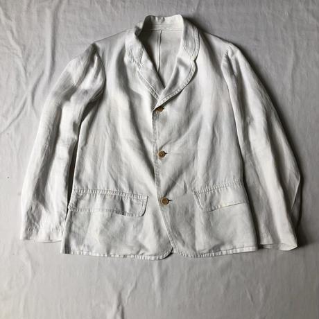 1920's〜1930's Cotton/Satin Summer Sack Jacket