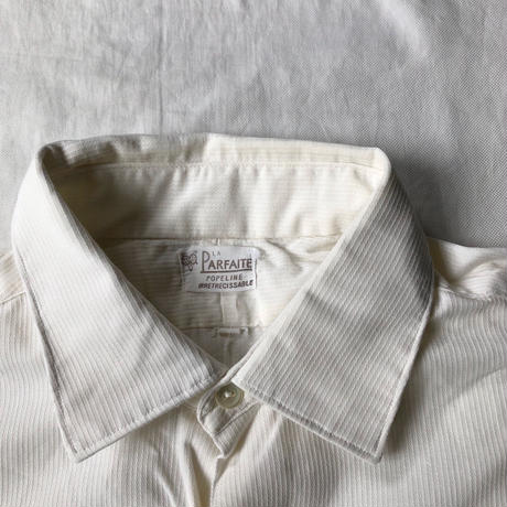 "40's French Farmer's ""Holiday Shirt"" Old Pattern Exellent Condition/2"
