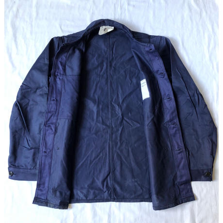 "1969 French Military Work Jacket Dead Stock Made from ""St James"""