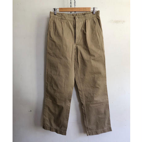 50's French Army Chino Trousers Colony Made