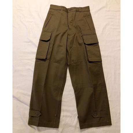 "60's French Army M47 Field Trousers ""21"" Dead Stock"