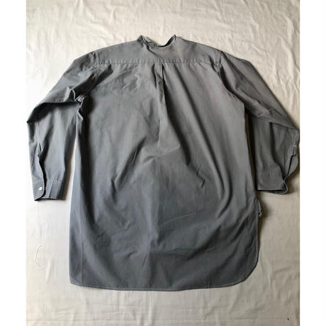40's Royal Air Force Officer Pullover Shirt With Collar Dead Stock