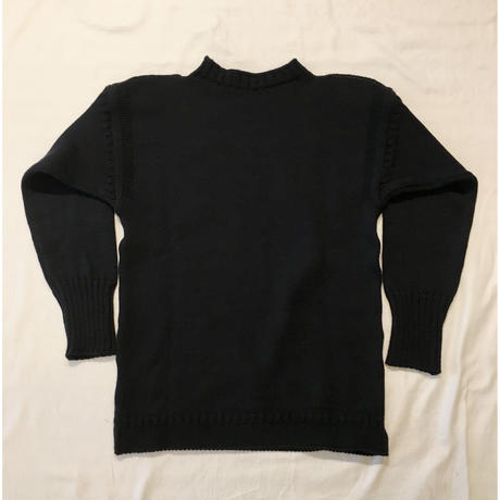 CHANNEL JUMPER Traditional Guernsey Sweater Navy