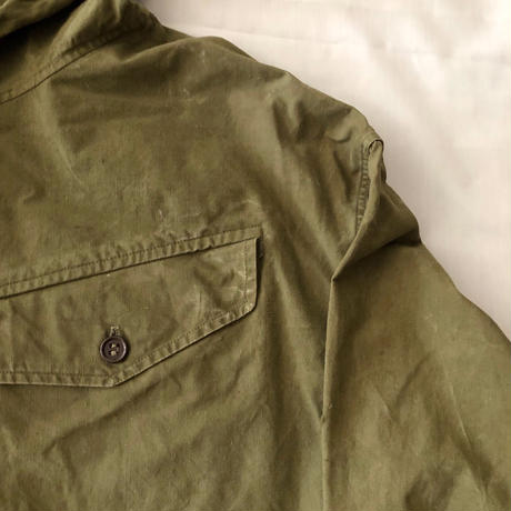 50's French Army Military Smock Good Condition/4
