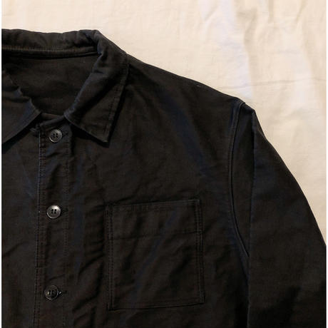 50's〜60's Black Moleskin Coveralls Mint Conditions