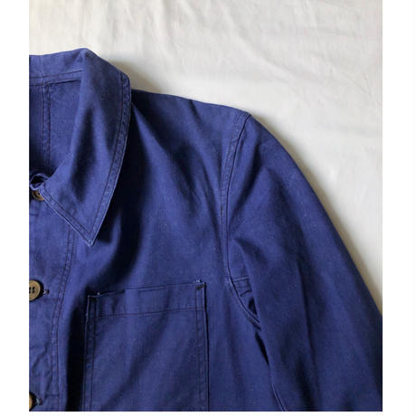 40's Lighter Cotton Coverall Wood Button