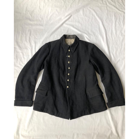 20's Antique French Fireman Jacket