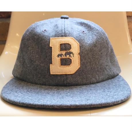 "The BROOKLYN CIRCUS Felt ""B"" Base Ball Cap"