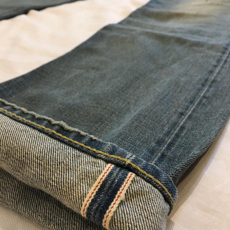 RRL LOW STRAIGHT Selvage Denim