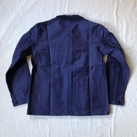 "60's Ink Blue Moleskin Coverall dead Stock Made by ""Adolphe Lafont"""