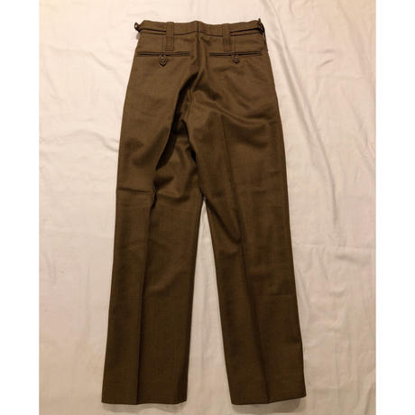 Royal Army Issue Wool Dress Trousers Dead Stock