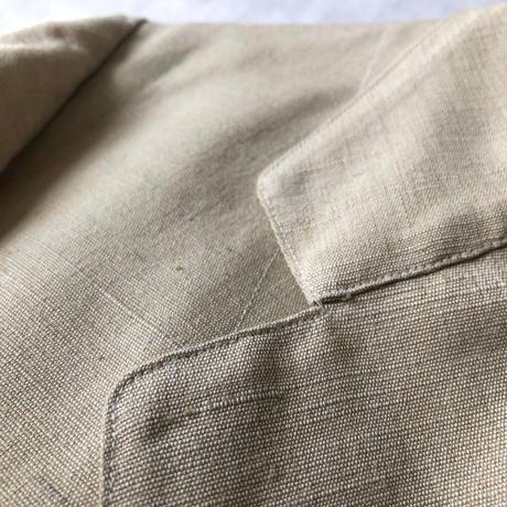 〜1930's Natural Linen Summer Sack Jacket