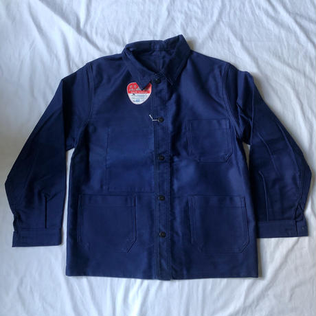 """60's Ink Blue Moleskin Coverall Dead Stock Made by """"Le Laboureur""""/2"""