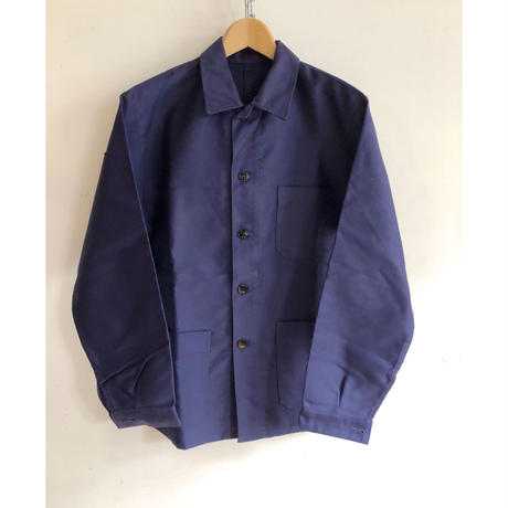 50's Ink Blue moleskin Coverall Dead Stock/2