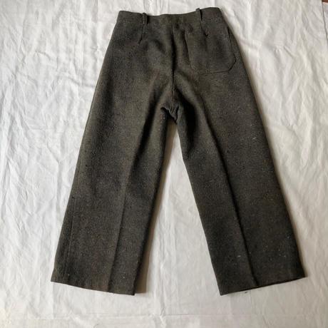1950's Wool Felt Work Pants
