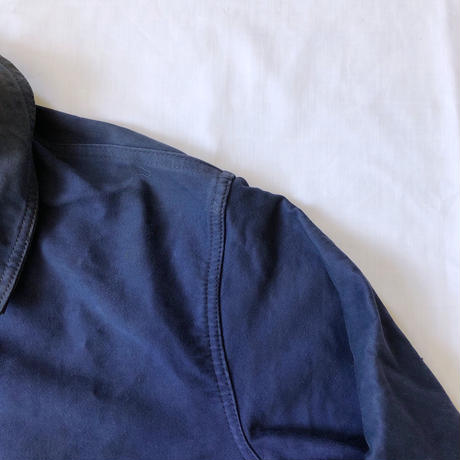 50's Ink Blue Moleskin Coverall