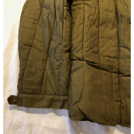 60's Union Soviet  Military Quilted Liner Jacket Dead Stock