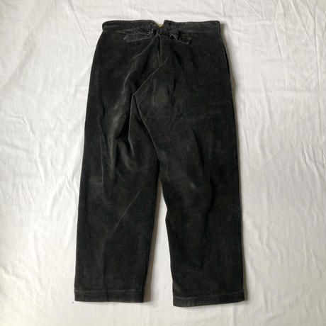 """40's Corduroy Work Trousers Made by """"Le Meilleur Amiens"""""""