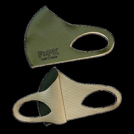 FXP Cu+ WASHABLE MASK 「銅繊維シート 抗菌 3D機能マスク」  3色セット