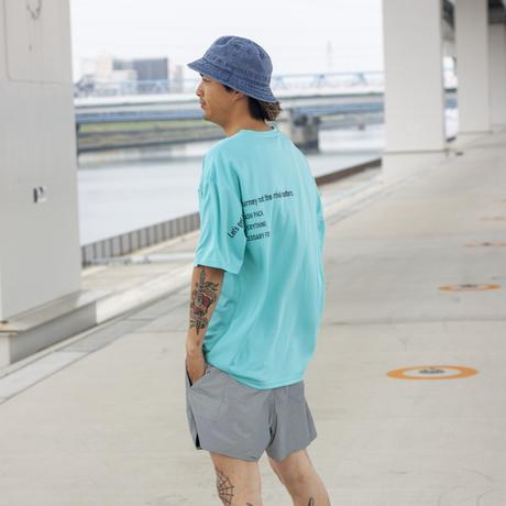 XNT-SLG ナノ撥水Tシャツ <ビッグシルエット>