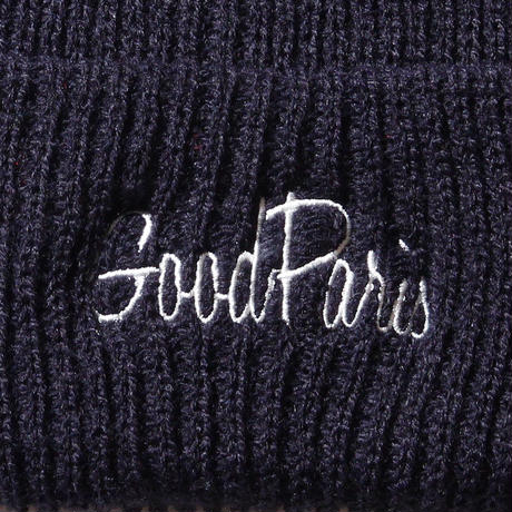 GOOD PARIS KNIT CAP / NAVY GDG-004