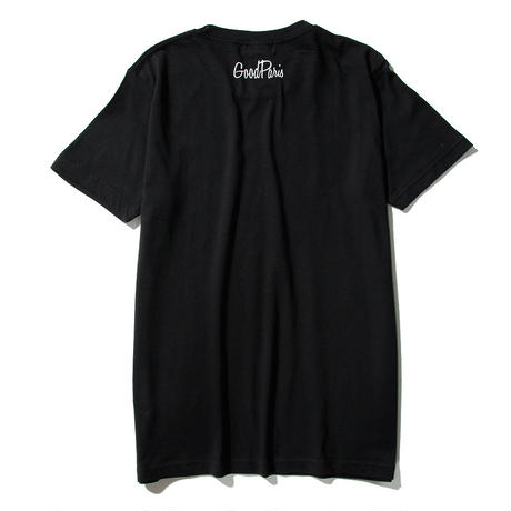 LUCKY T-SHIRT/BLACK GDT-008