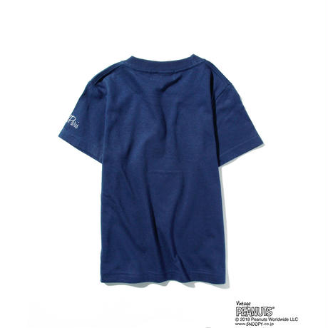 GP×SNOOPY SURF KIDS T / NAVY GST-003