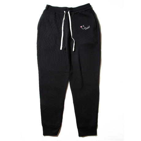 SMILE GOOD SWEAT PANTS / BLACK GDB-001