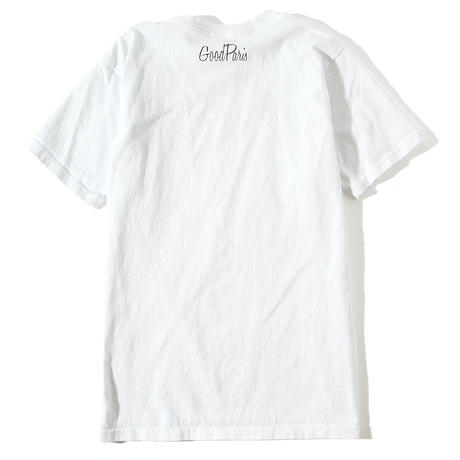 GOOD PARIS T-SHIRT/WHITE GDT-013