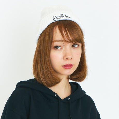 GOOD PARIS KNIT CAP / WHITE GDG-004