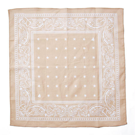 GOOD PARIS BANDANA / BEIGE GDG-001