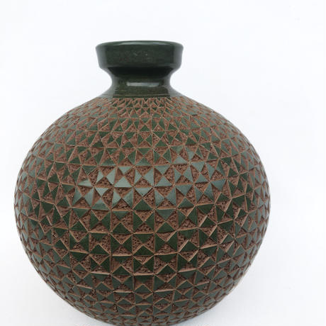 Made in Nicaragua Handcrafted Pottery Vase