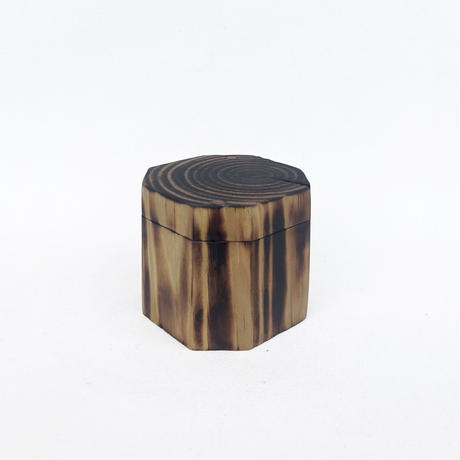 Wooden Log  Box