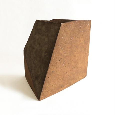 Many Sides Stone Vase