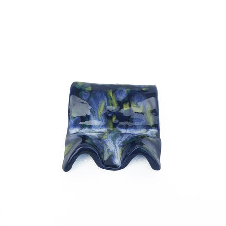 Marble Glaze Soap Stand