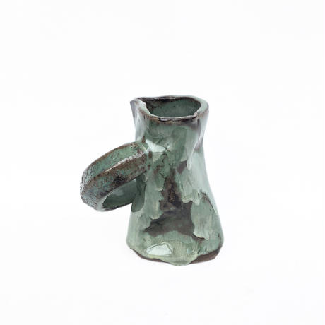 Hand Made Irregular Shape Vase
