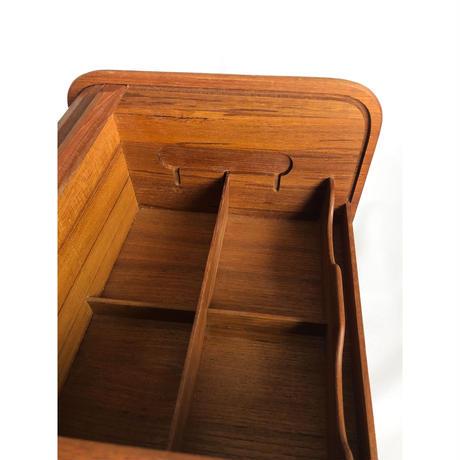 Wooden Roll Top Storage Box