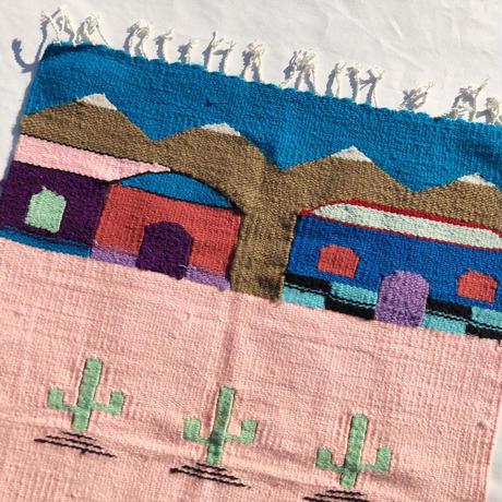 Hand made woven rug