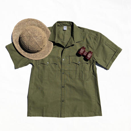 Panama Cloth Safari Shirts