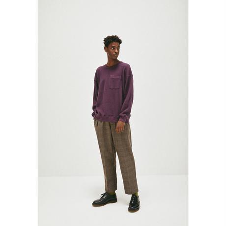 Wool Glen Check Slacks