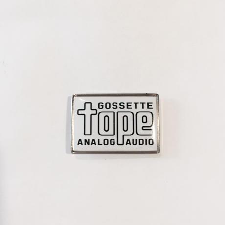 「GOSSTTE TAPE ANALOGAUDIO」ピンズ