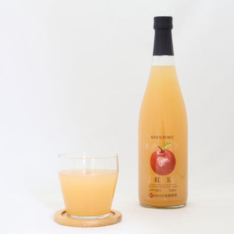 希少!長野県産高級ぶどう&りんご100%ジュース2本セット【ナガノパープル&紅玉】