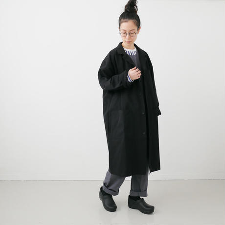 Si-Si-Si comfort|スースースーコンフォート  |WASHABLE COTTON  WINDOWJACKET|BLACK|18-AW003DP