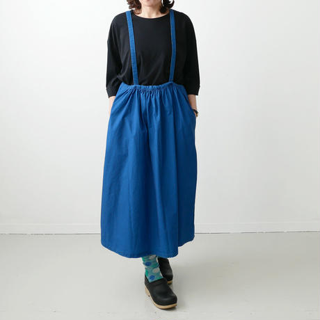Si-Si-Si comfort スースースーコンフォート ALL BIO WASHED サロペットスカート