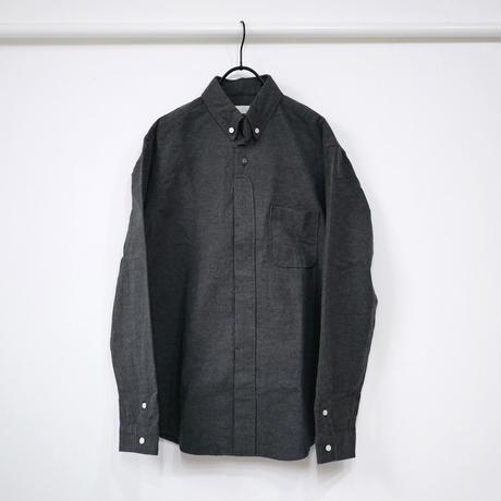 nisica|ニシカ |ボタンダウンネルシャツ |NIS-836-SH|グレー
