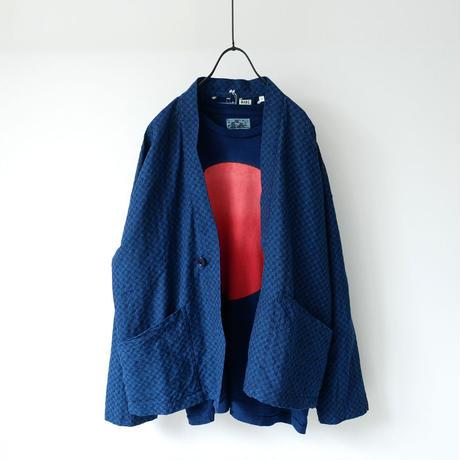 BLUE BLUE JAPAN |ブルーブルージャパン|インディゴ トリアシドビー ショートハオリ|INDIGO|J6125
